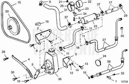 Steering Power Volvo Penta Exploded Schematic Diagram