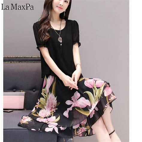 dresses   big sizes women clothing   spring