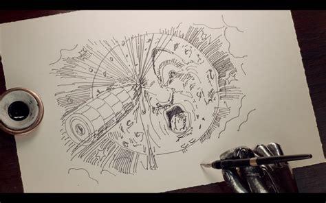george melies pelicula hugo meli 233 s hugo painting drawing pinterest cine