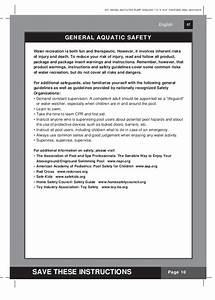Kystal Clear Model 603 Filter Pump Manual For Intex Pools