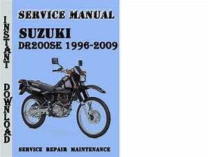 Suzuki Dr200se 1996