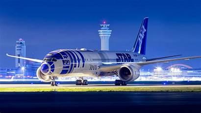 787 Boeing Dreamliner Livery Ana Wars Star