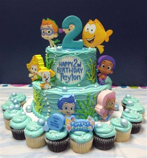 Guppies Cake Toppers by Guppies Birthday Cake Topper Guppies