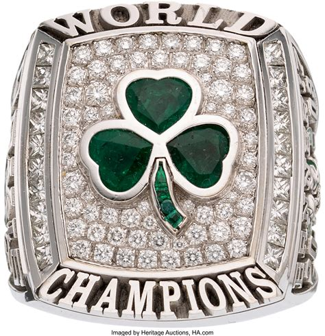 2008 Boston Celtics NBA Championship Ring Presented to ...