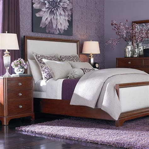 Home Design Idea Bedroom Decorating Ideas Using Purple