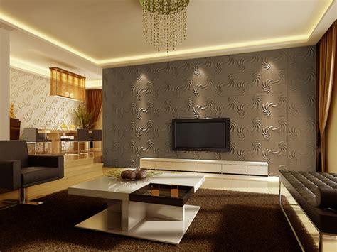 moderne tapeten fuer wohnzimmer