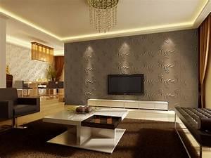 Wohnzimmer Tv Wand Ideen : moderne tapeten f r wohnzimmer ~ Orissabook.com Haus und Dekorationen
