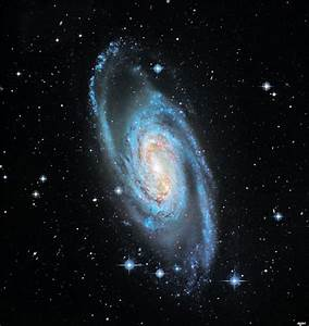 Step Up to the Barred Spiral Galaxy | physics4me