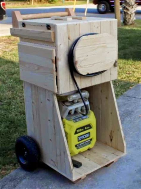 air compressor cart