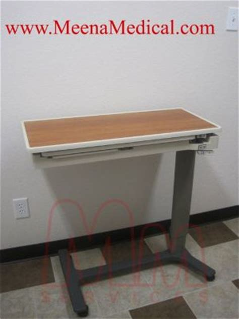 used hospital bed table for sale used hill rom patient mate jr overbed table for sale