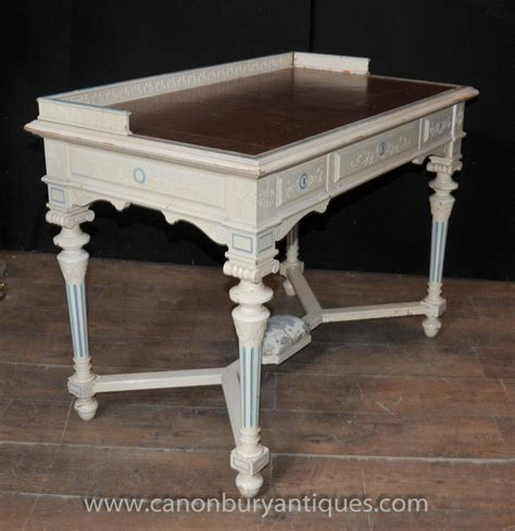 tables bureau napoleon desk writing table bureau painted shabby chic