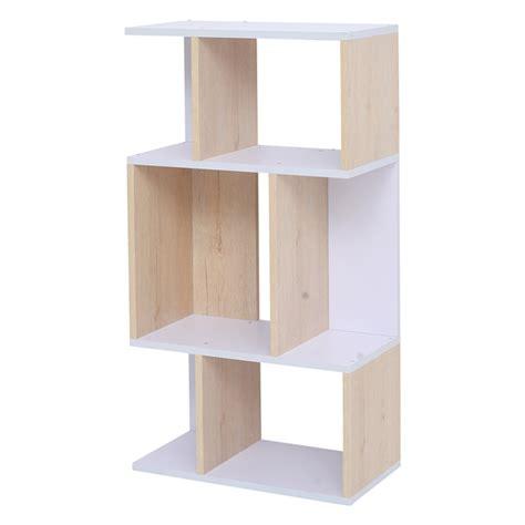 Mensole Ufficio Mobili 174 Libreria Scaffale 4 Mensole Legno Chiaro