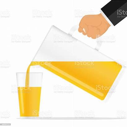 Juice Jug Jus Orange Verre Verser Pours