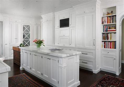 floor to ceiling kitchen cabinets tv niche transitional kitchen exquisite kitchen design