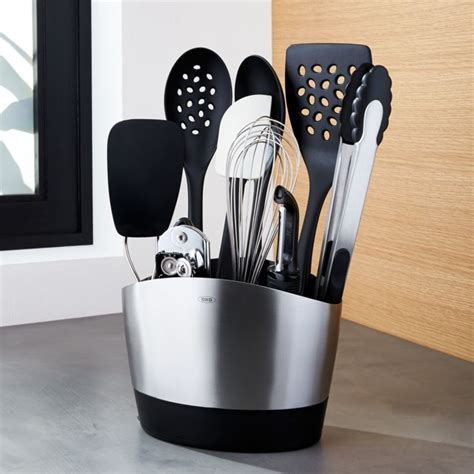 OXO Utensil Set: 10 Piece Holder with Tools   Reviews