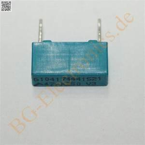 Schaltkreise Berechnen : 20 x 47nf 250v mkt rm10 folien kondensator ~ Themetempest.com Abrechnung