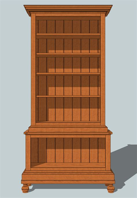 Bookcase Plans by Arched Bookcase Plans