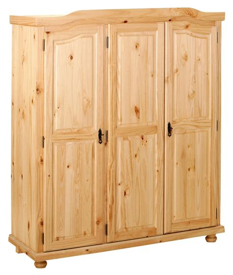 meuble de bureaux armoire 3 portes bern pin