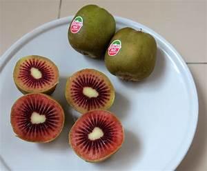 Red kiwi fruits – you can eat kiwi fruit skin! – Ten ...