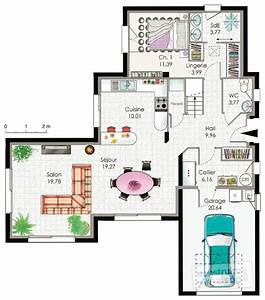 maison contemporaine 2 detail du plan de maison With faire plan maison 3d 10 maison contemporaine top maison