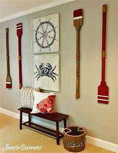 574 best nautical decor images on pinterest With best brand of paint for kitchen cabinets with beach themed candle holders