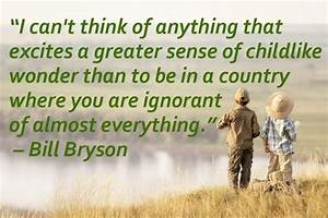 Quotes About In... Bill Bryson Bear Quotes