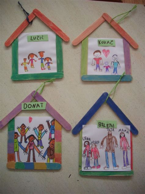 popsicle stick house craft crafts and worksheets for 462 | 2bec14211e8e317a1470f266c920ccc3