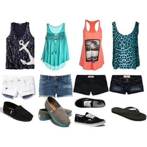 Cute school or summer outfits (except for the ugly cheetah top) | Girls Got Style | Pinterest ...