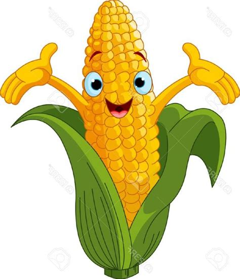 Corn Clip Korn Clipart Harvesting Crop Pencil And In Color Korn
