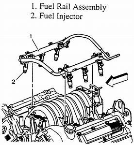 Diagram For 3800 Engine Injector