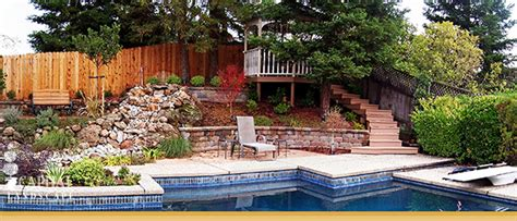 landscape design features  sacramento