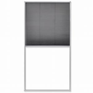 Plissee 80 Cm : la boutique en ligne vidaxl moustiquaire pliss e pour fen tre 160 x 80 cm ~ Whattoseeinmadrid.com Haus und Dekorationen