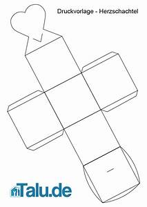 Geschenkverpackung Basteln Vorlage : herzschachtel aus papier basteln anleitung ~ Lizthompson.info Haus und Dekorationen