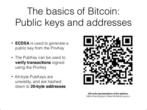 Are you wondering how to get the public key from the private key? The basics of Bitcoin: Public