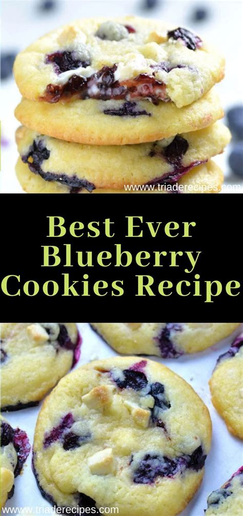 They were easy to make and delicious. Best Ever Blueberry Cookies Recipe