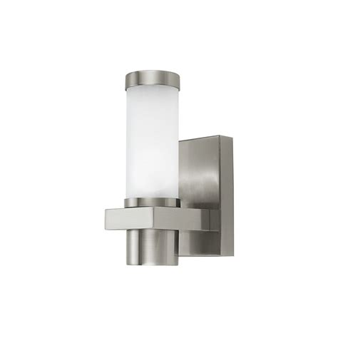 eglo lighting 86385 konya modern outdoor steel wall light