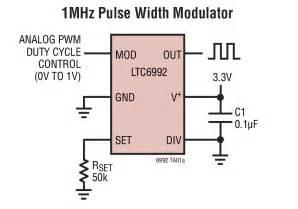 Integrated Circuit Bipolar Analog Pwm Electrical