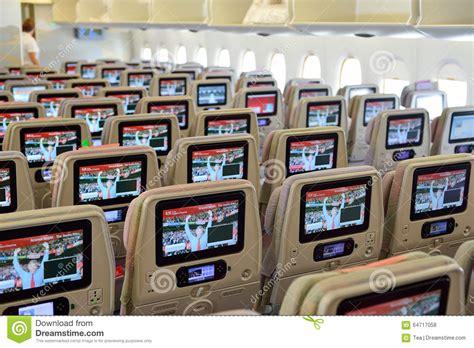 int 233 rieur d avions d airbus a380 d 233 mirats photo stock 233 ditorial image 64717058