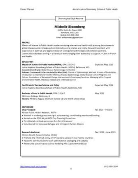 resumes  cvs career resources  students career