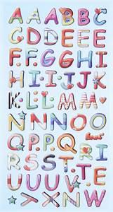 Buchstaben Zum Aufkleben : softy stickers design buchstaben bunt hobbymade shop ~ Watch28wear.com Haus und Dekorationen