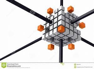 Nexus Technology Diagram Stock Illustration  Illustration