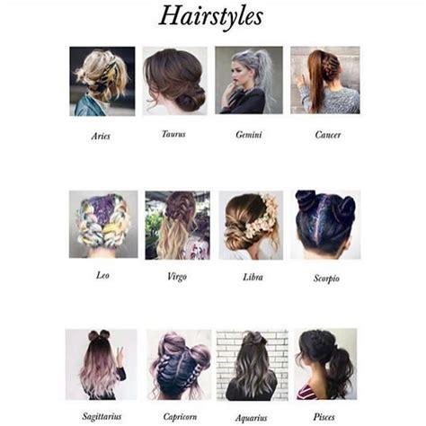 signs   hairstyles sagittarius pride zodiaque