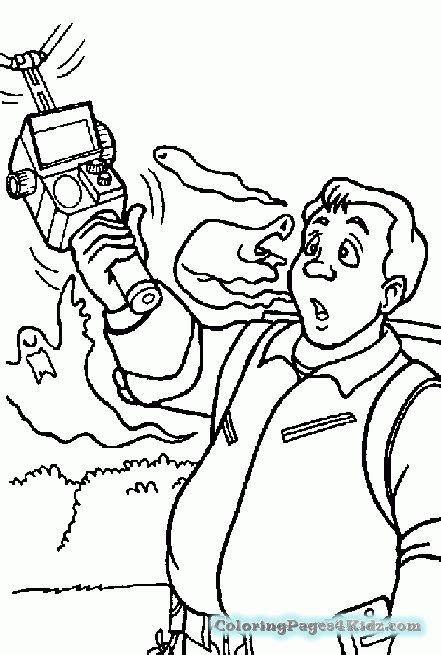 ghostbusters valentines coloring pages  printable