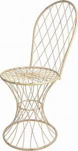 Chaise De Jardin En Fer : chaise de jardin fil de fer ~ Teatrodelosmanantiales.com Idées de Décoration
