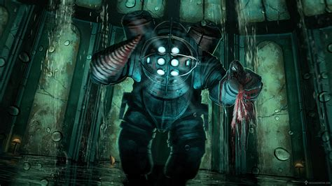 Gaming Painting 2 Bioshock Fan Art With Video On Behance