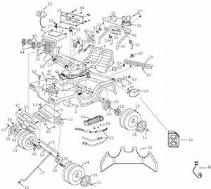 Power Wheels Barbie Beach Ranger Parts