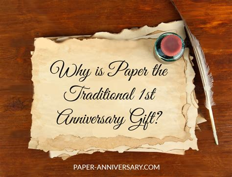 paper  traditional  anniversary gift