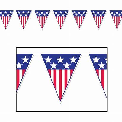 Flag American Clipart Banner Clip Clipartmag