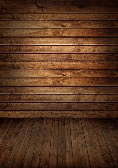 brown wooden wall floor photography backdrops vinyl