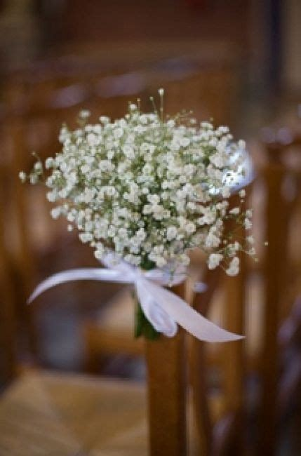 decoration chaise mariage pour déco banc église deco mariage